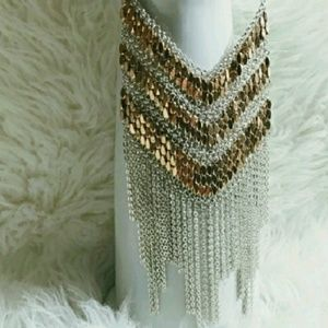 New stunning Fringe necklace